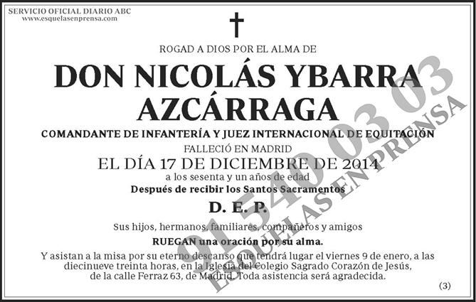 Nicolás Ybarra Azcárraga